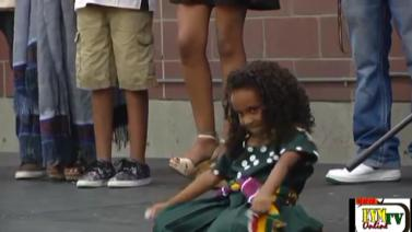 Little Star at the 2014 Seattle Ethiopian Summer Festival