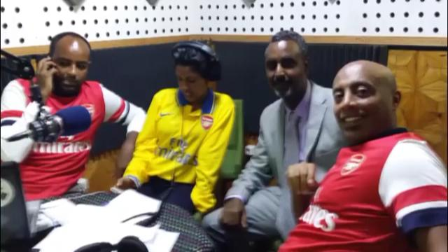 Gedion Zelalem's Father With Seifu Fantahun