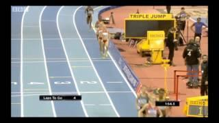 Genzebe Dibaba wins 1500m Indoor - Birmingham - 16 Feb 2013
