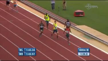 Mohammed Aman Gets Third Place In 800m - Diamond League, Monaco 2014 | 18 July 2014