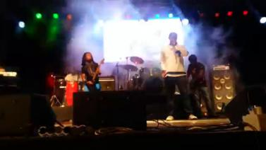 Teddy Afro Performing Janehoye at Ghion Hotel, Addis Ababa April 26 2014
