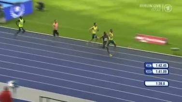 Mohammed Aman wins 800m at 2014 ISTAF in Berlin 31 August 2014
