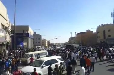 Ethiopians Protesting The Killing of their Brothers on the Streets of Saudi Arabia