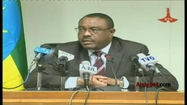 PM H/Mariam Desalegn Press Conference about Zone-9 Bloggers And Andargachew Tsigie - Part 1