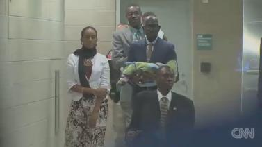 CNN - Ethiopian Sudanese Woman who was sentenced in Sudan because of her faith lands in the US