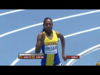 Abeba Aregawi Wins Gold in Women's 1500m IAAF World Indoor Championships 2014