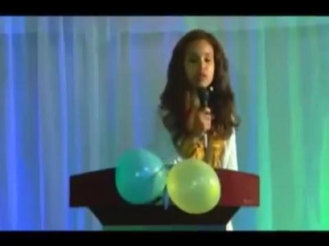 Ethiopian Actress Selam Reciting an Amazing Poem
