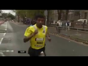 Haile Gebresilassie Sets Course record in win at Great Scottish Run 2013