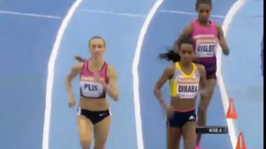 Genzebe Dibaba Breaks Her Third World record in Birmingham, England